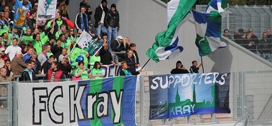 FC Kray auf Stadtderby gegen RWE gut vorbereitet