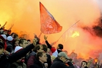 "Slavia Praha vs. Banik Ostrava: Der lauteste Prager Fanblock singt ""Stando diky!"""