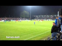 Babelsberg 03 vs. Carl Zeiss Jena: Pyro und emotionale Schlussphase